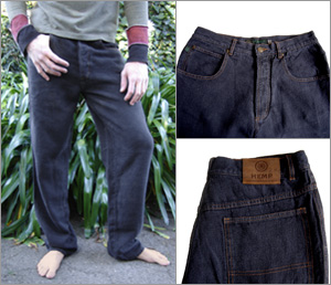 swirlspace catalog - men's hemp jeans