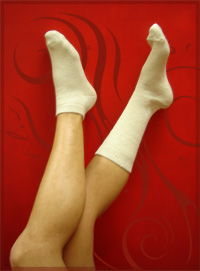 swirlspace - women's hemp socks